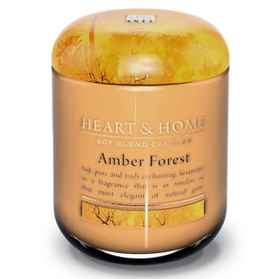 Amber Forest Candle in Jar Extra Large 80 hours